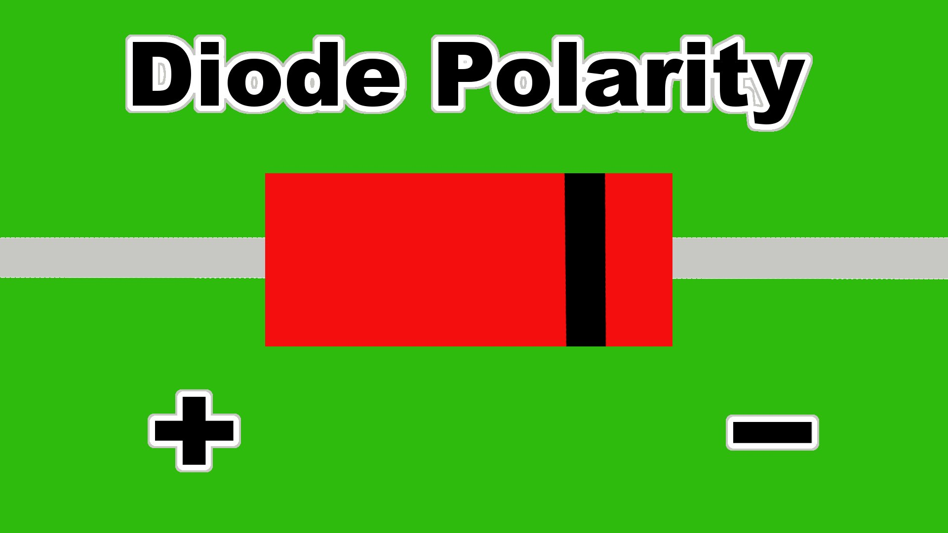 diode polarity marking