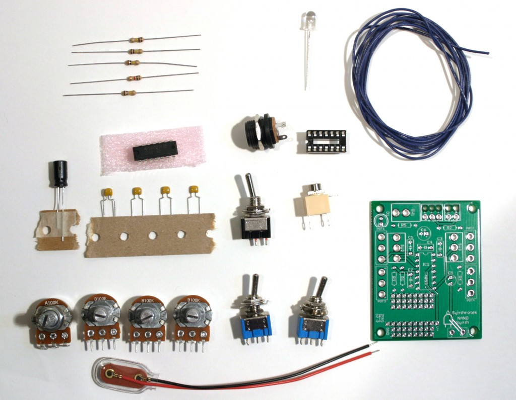 Synthrotek, Electronic Circuits, DIY