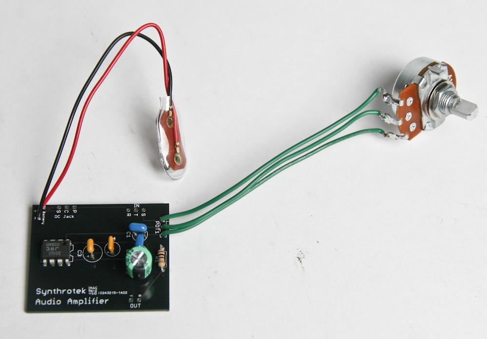 LoFi Audio Amplifier Assembly Instructions | Synthrotek