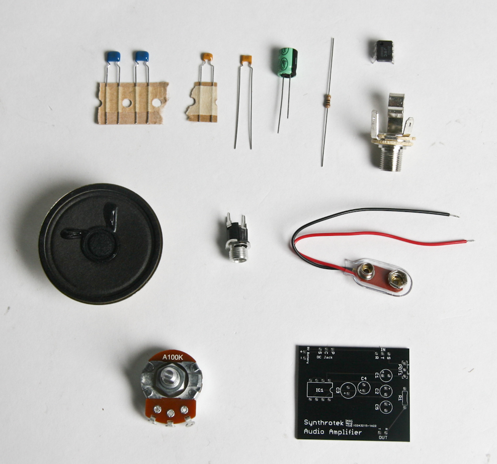 Lofi Audio Amplifier Assembly Instructions Synthrotek Amp Wiring The