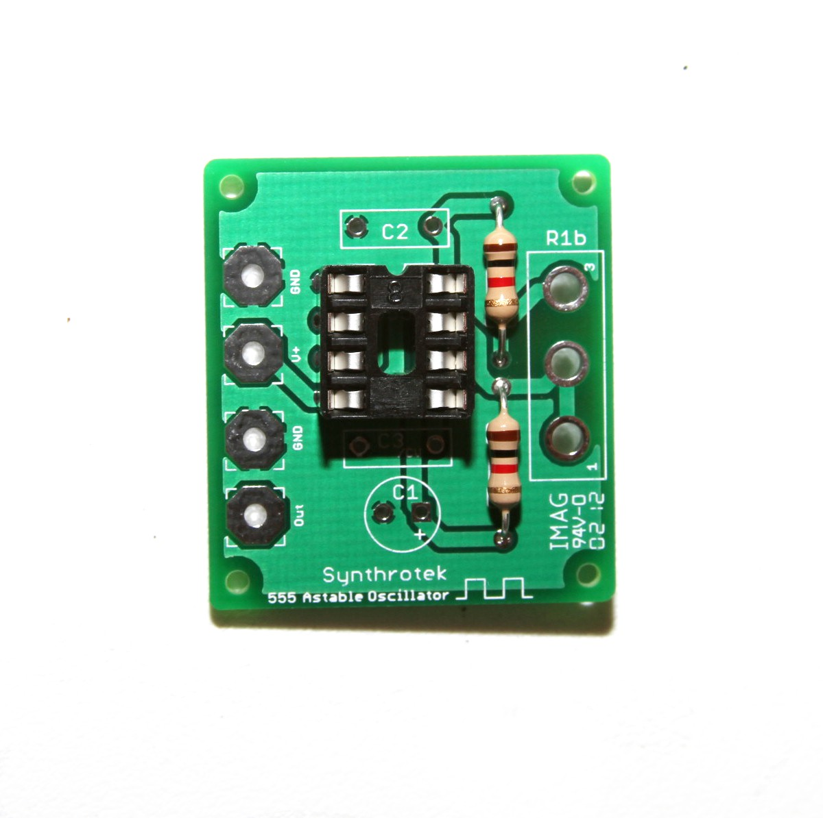 555 Timer Assembly Instructions Synthrotek Circuit Further Long Duration On Off Delay Oscillator Lfo Diy Kit