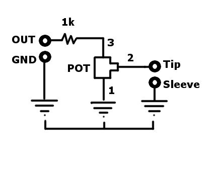 Sensational How To Wire A Volume Pot To The Output Signal Of Any Diy Synth Wiring Digital Resources Cettecompassionincorg
