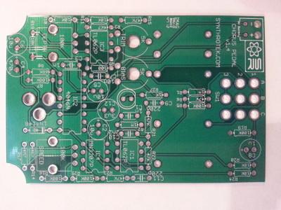 Chorus Pedal PCB