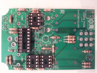 Chorus Pedal IC sockets