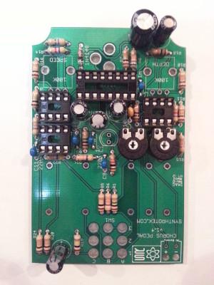 Chorus Pedal Capacitors
