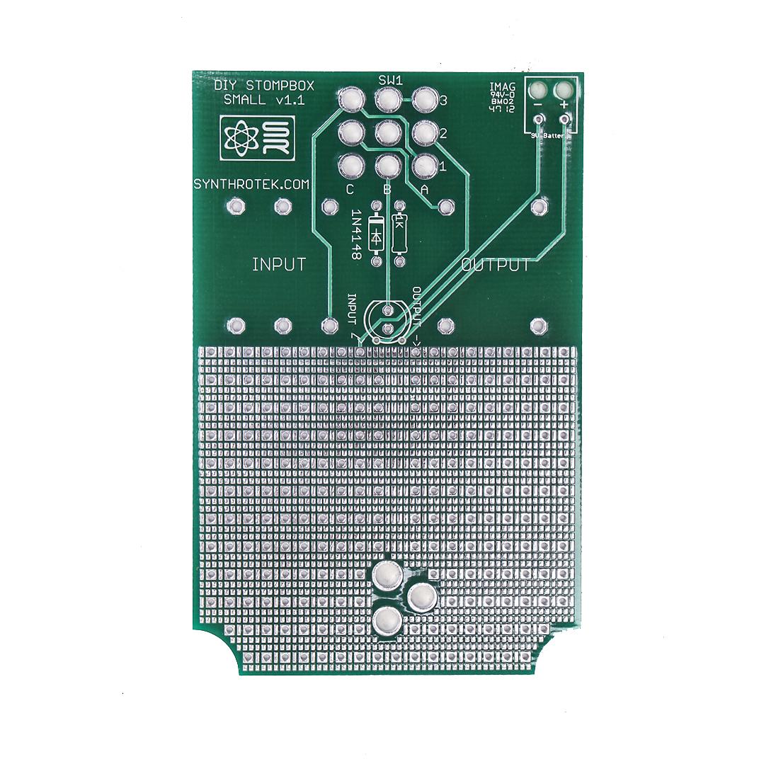 Diy Stompbox Synthrotek Stomp Box Switch Wiring Diagram Pcb