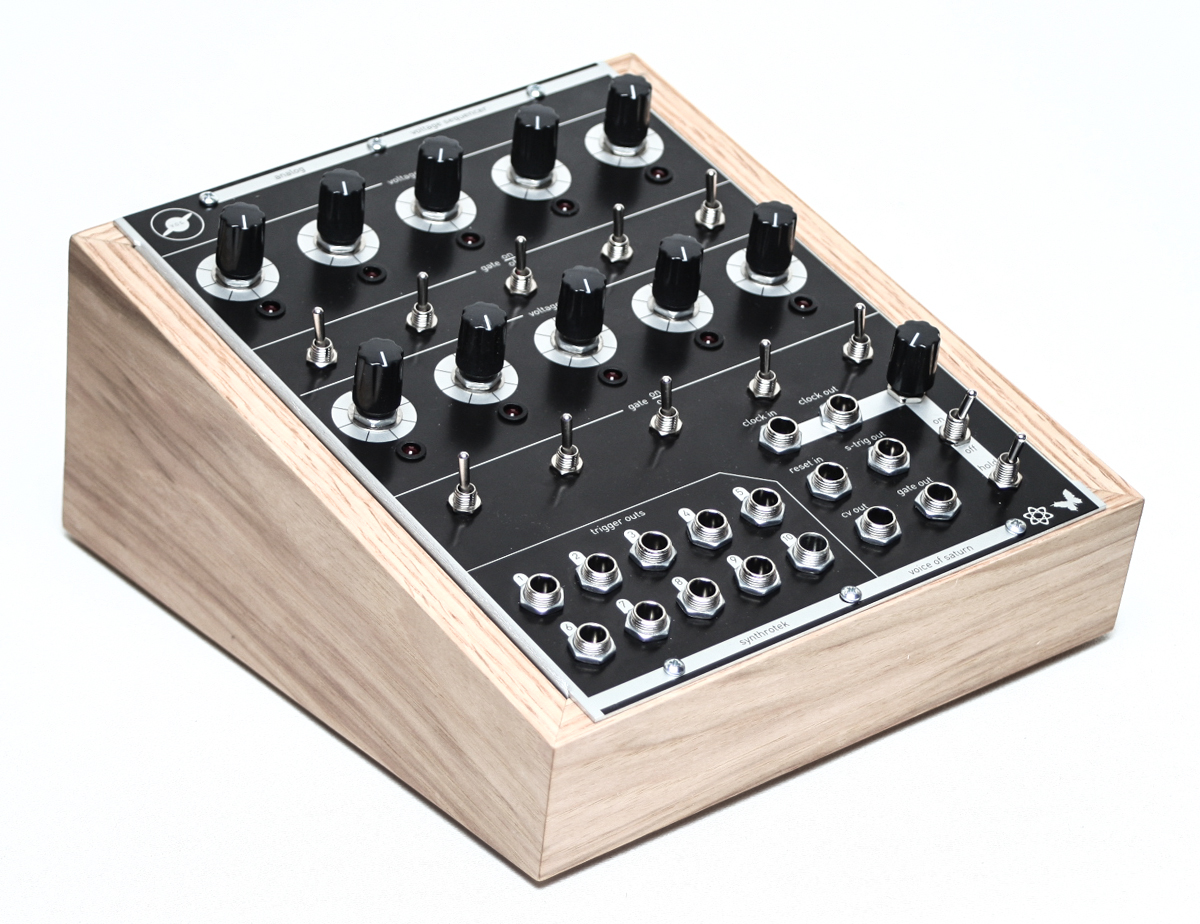 voice of saturn analog sequencer