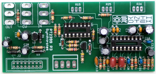 EKO Assembly Step 3: Transistors and IC Sockets