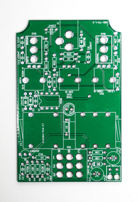 Tube Screamer Clone PCB