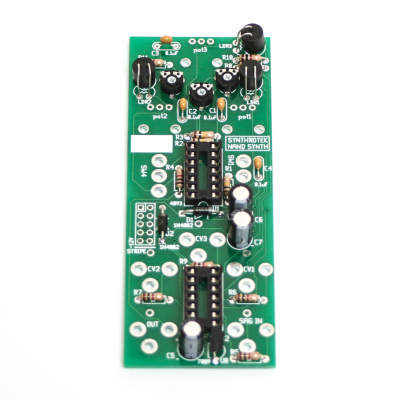 Chaos Nand Vactrols and Voltage Regulator