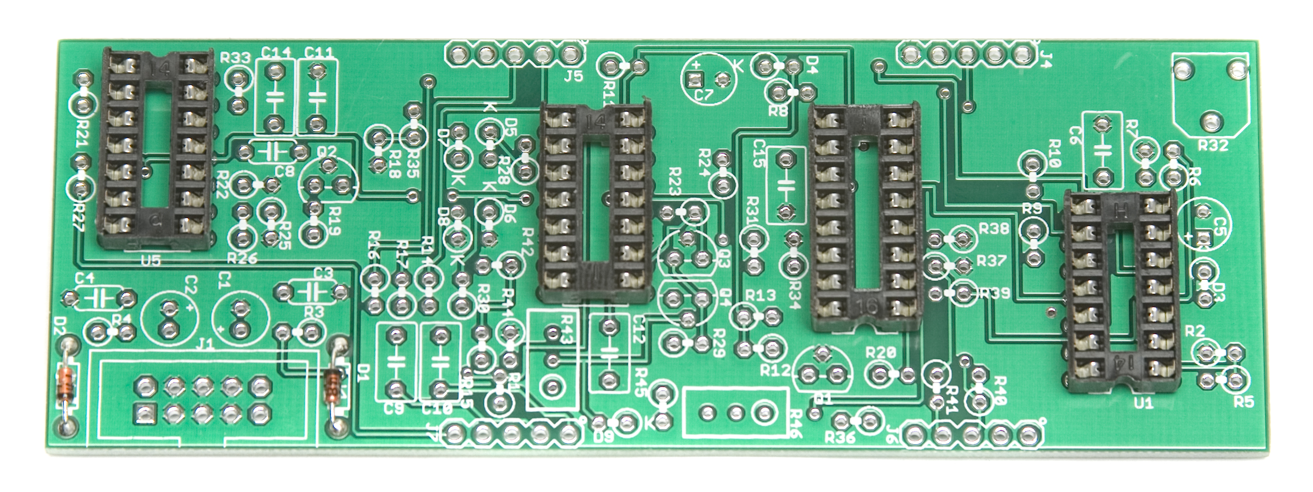 Ds M Assembly Instructions Synthrotek De Luxe Timer With Ic 4093 7808 Sockets Place The