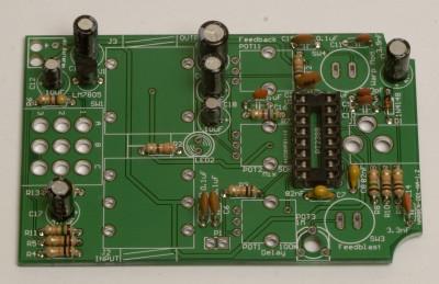 electro caps soldered!