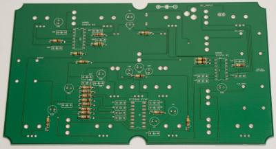 resistors soldered