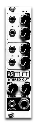 MST - STEREO OUTPUT MIXER
