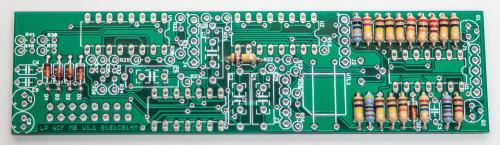 MST Low Pass Filter Resistors