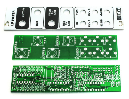 MST Low Pass Filter PCBs & Panel