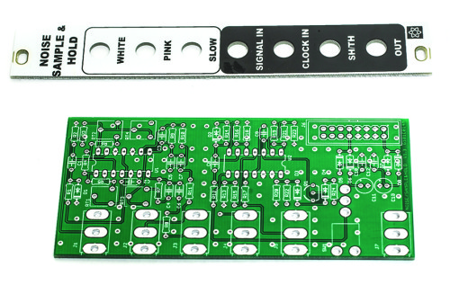 MST NOISE / Sample & Hold / Track & Hold Panel and PCB