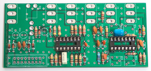 MST Noise / S&H / T&H Capacitors
