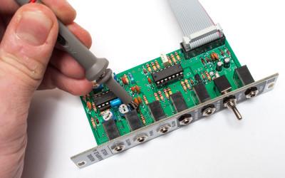 Slow noise test point R11