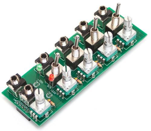 MST AUDIO / CV MIXER Pots, Jacks, Switches, & LEDs