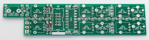 1U Stereo Mixer Diodes
