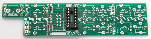 1U Stereo Mixer IC Socket
