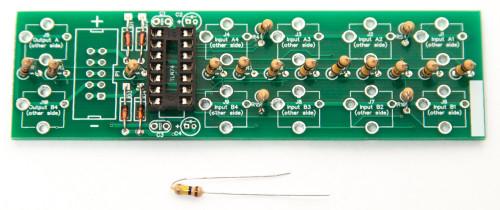 1U UNITY GAIN MIXER Resistors