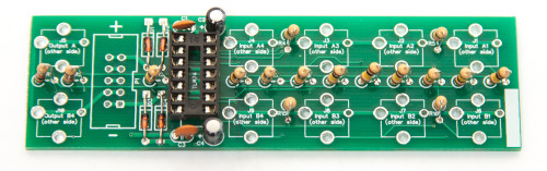 1U UNITY GAIN MIXER Capacitors