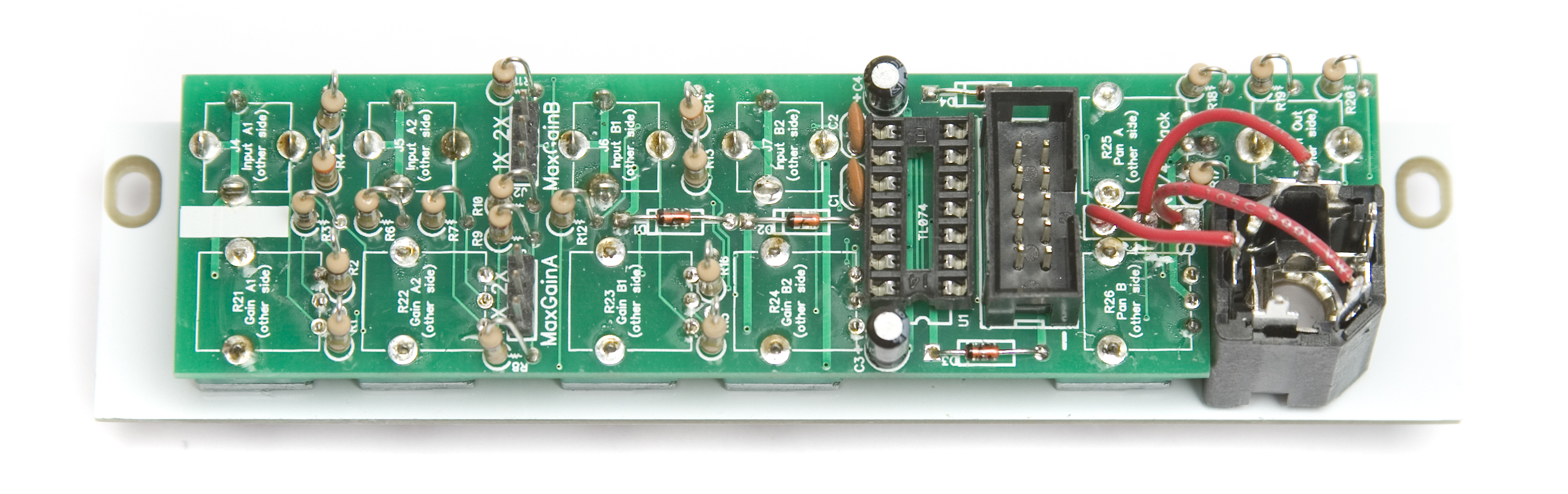 1 4 Jack Wiring To Circuit Board Trusted Diagram Stereo Input Mst Output Mixer Assembly Instructions Synthrotek