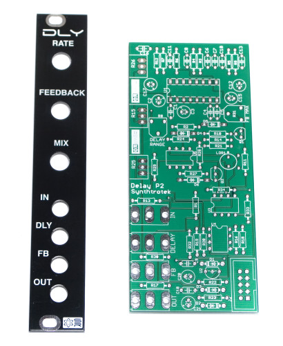 Synthrotek DLY PCB and Panel Set