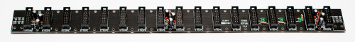 Distro Board Power Filtering Capacitors