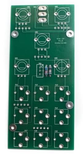 MST VCO Front Panel Resistors