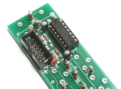 3U Unity Gain Mixer Header and IC