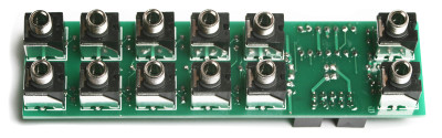 3U Unity Gain Mixer Jacks