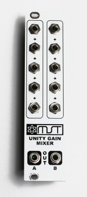 Final 3U Unity Gain Mixer