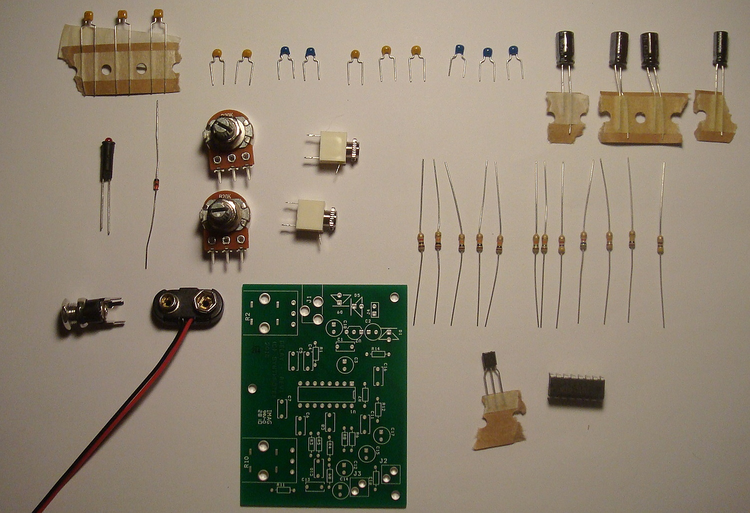 Pt2399 Lo Fi Delay Assembly Instructions Synthrotek Lm555 Electronics Schematic Diagram Two Stage Time Circuit Part 29 If This Is Your First Project Dont Worry We Will Identify Each