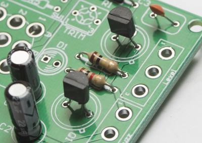 Silicon PNP Transistor Orientation