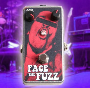 FACE THE FUZZ distortion Pedal Fuzz Face Clone