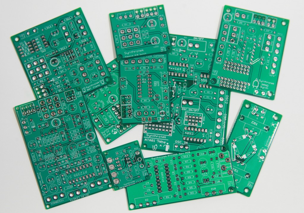 Electronic Circuits boards Synthrotek