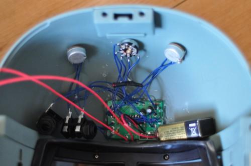 Atari Punk Console in Boba Fett Helmet