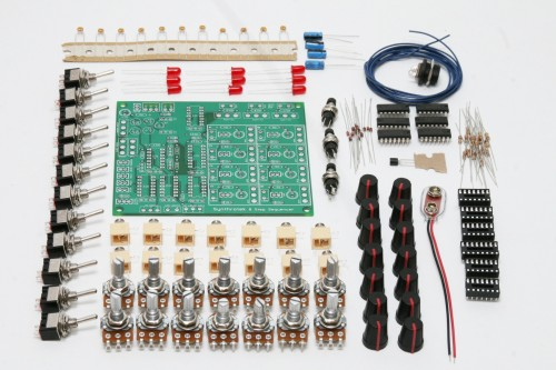 8_step, 8_step_analog_sequencer, baby_10, analog, 8_step_sequencer, sequencer, electronic_circuits, DIY, synthrotek, 8,
