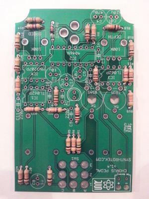 Chorus Pedal Resistors