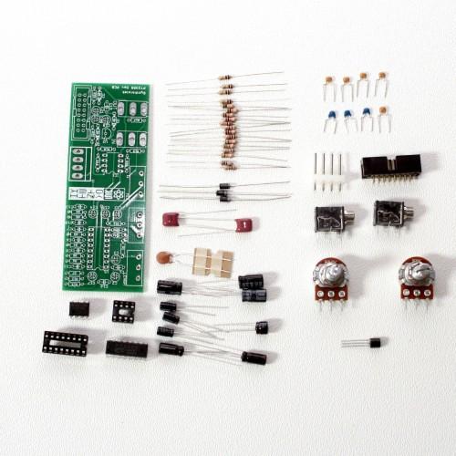 Modular PT2399 Delay for 16mm pots parts
