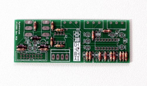 Modular PT2399 Delay (16mm) Step 1