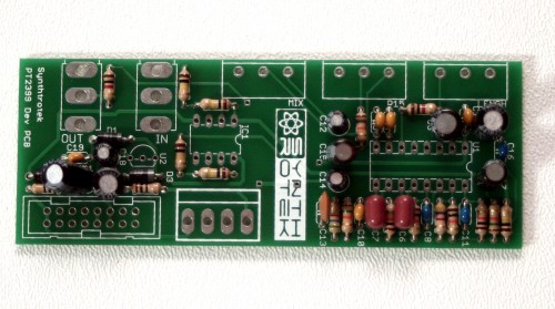 Modular PT2399 Delay (16mm) Step 2