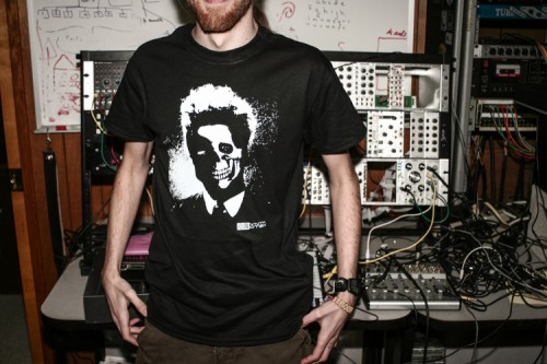 "Synthrotek ""Noise Head"" Tee"