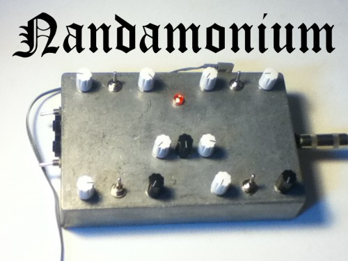 nandamonium Mega Drone Synth