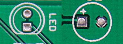 LED and CAP