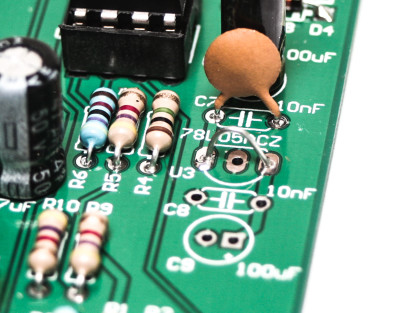 DIRT Filter 5V Voltage Regulator Jump