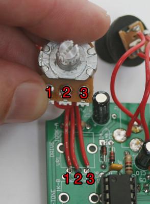 Potentiometer Wiring Order
